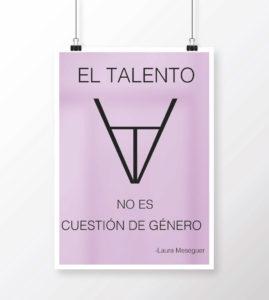 Cartel Diseñadoras Laura Meseguer Ciclo Formativo de Grado Superior en Gráfica Publicitaria