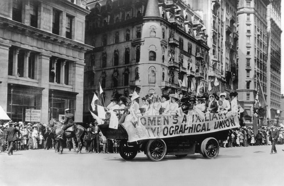 Women Typographical Union, 1909 NYT
