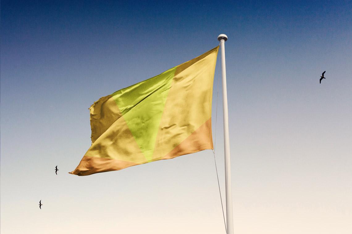 Bandera Sinestesia de Iñaki Urruzola