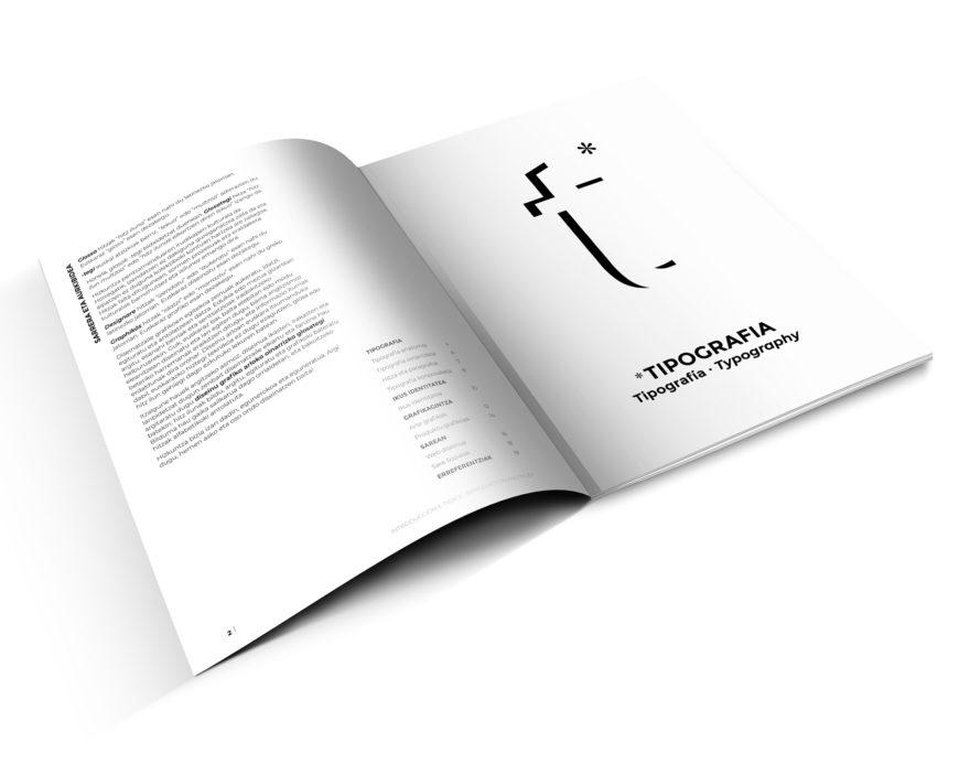 Euskarazko Diseinu Grafiko Fanzine glosarioa lehen orria Usandizaga
