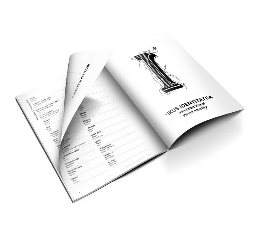 Euskarazko Diseinu Grafiko Fanzine Glosarioa grafikagintza Usandizaga Diseño Tipografia