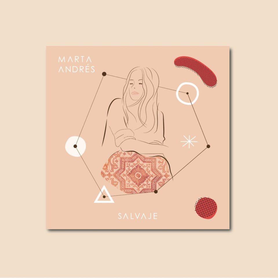 Diseño de arte para el disco `Salvajes` de Marta Andrés - ARTEUPARTE