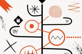 Diseño cartel mercado organizado en TBK - thumbnaill ARTEUPARTE
