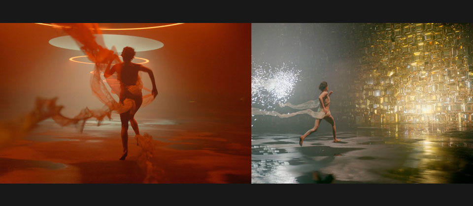 The Mill: Gabrielle- Chanel, stills from the ad, Ross Urien