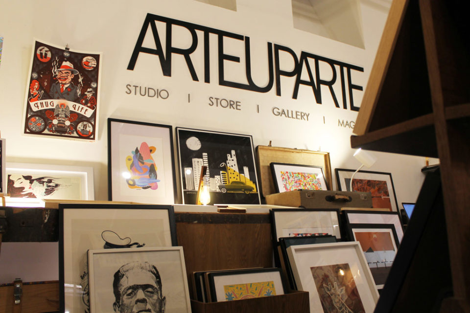 art gallery - ARTEUPARTE