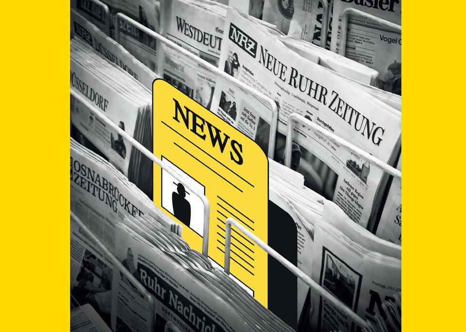News para la campaña de comunicación contra el racismo diseñada en Ciclo Formativo de Grado Superior en Gráfica Publicitaria Usandizaga