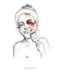 Sastraka ilustración feminista. Entrevista en el Ciclo formativo de grado superior en gráfica publicitaria Usandizaga Diseño.