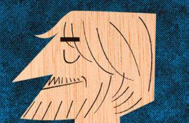 Entrevistas Creativas: Ilustración caricatura Autorretrato-Mikel-Casal