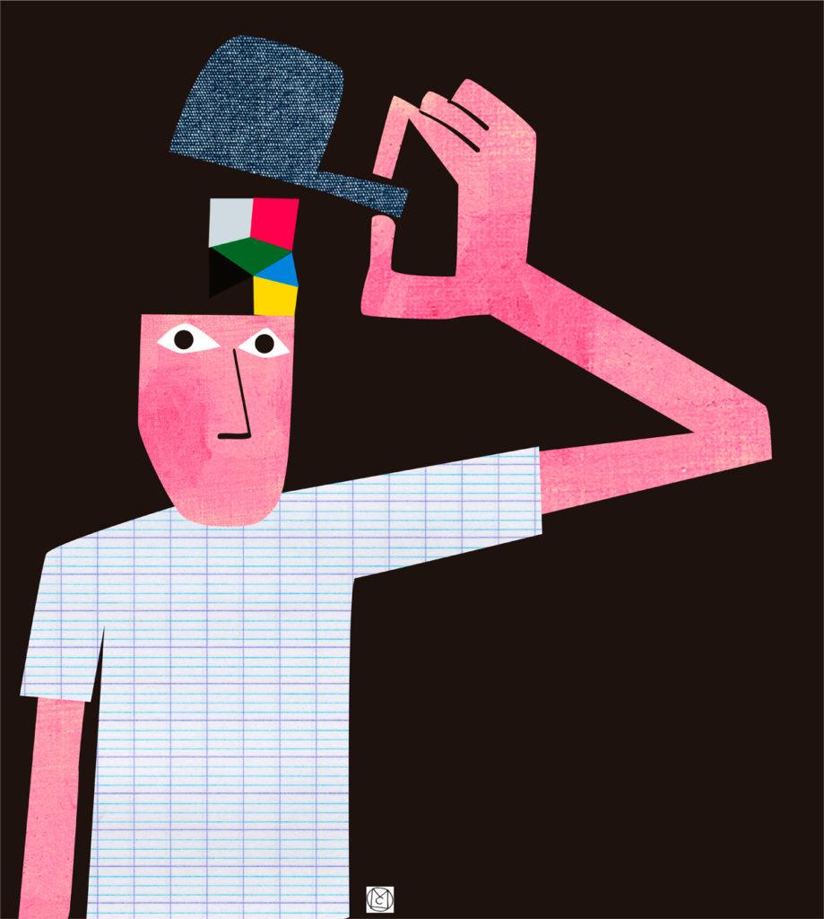 Ilustración Crazy - Mikel Casal