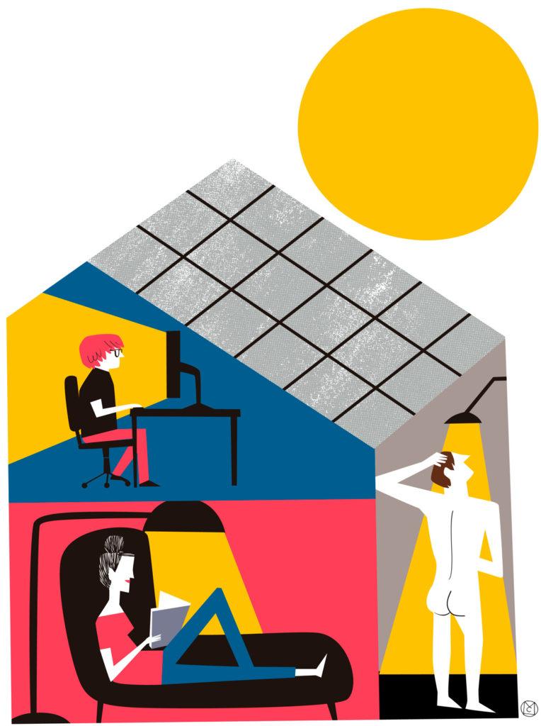 ilustración Solar- Mikel Casal