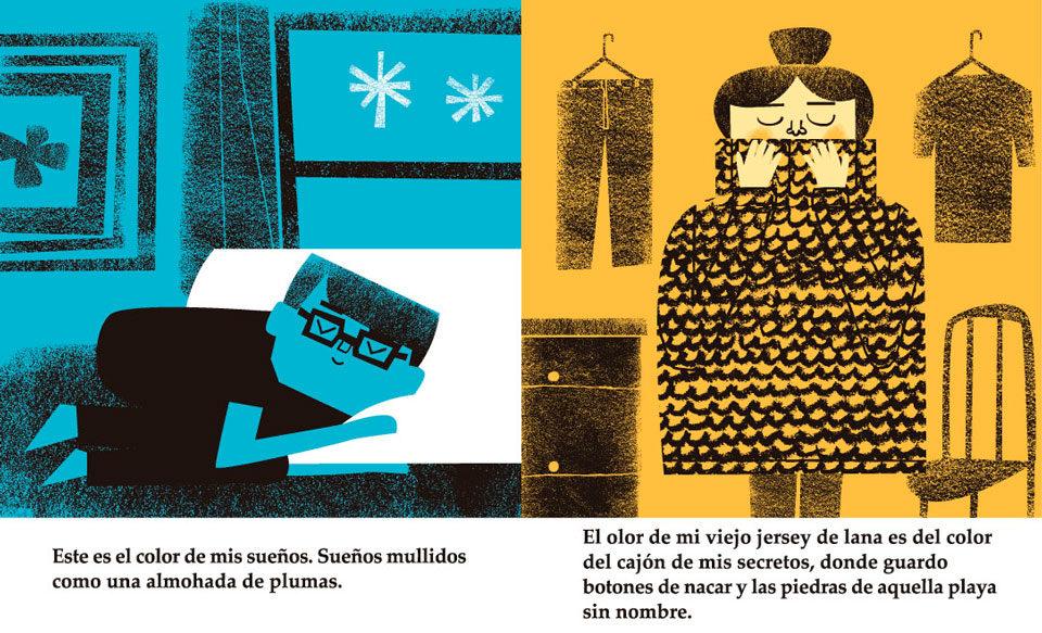 Ilustración cuento infantil - Mikel Casal