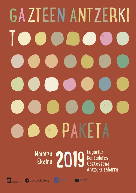 Propuesta de Cartel para la 31 edición Gazte Antzerki Topaketak de Donostia