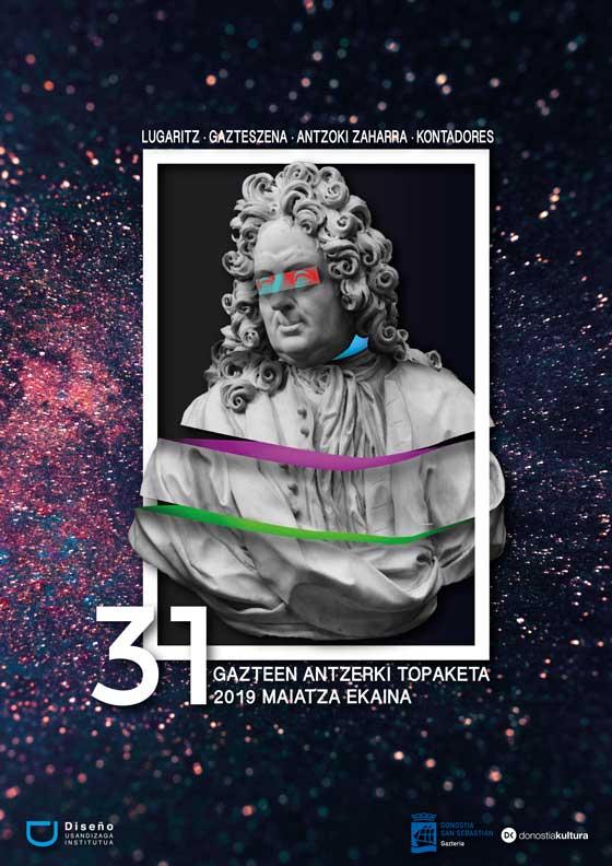 Propuesta de Cartel de Kono para la 31 edición Gazte Antzerki Topaketak de Donostia