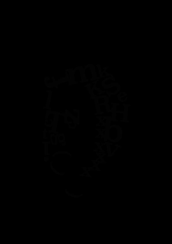 Karagrama de Robert Besley hecho con la tipografía Clarendon - Ekatz Tejedor