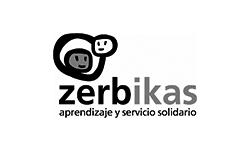 logotipo de zerbikas: aprendizaje y servicio solidario