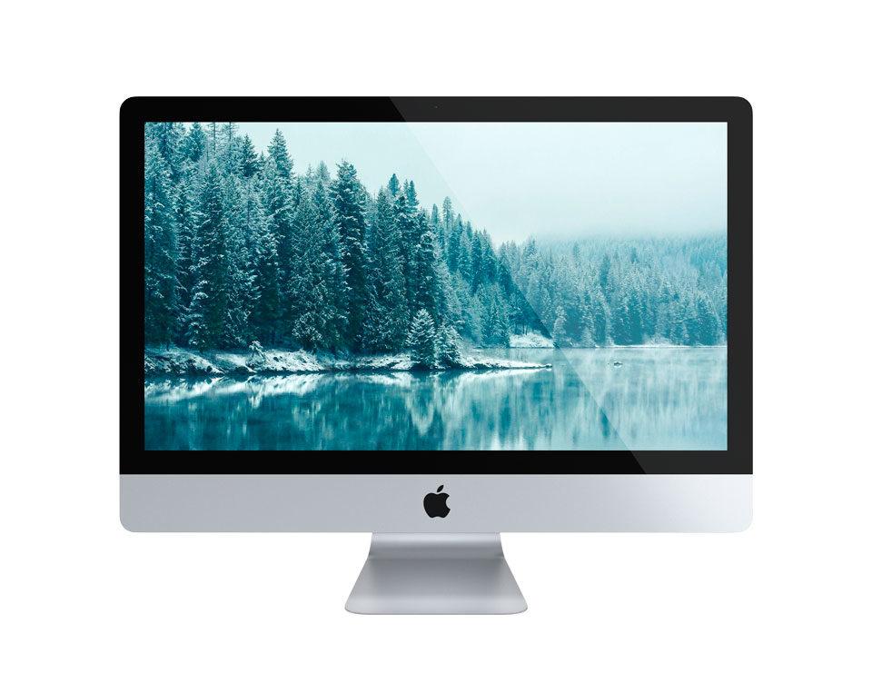 """iMac 21"""" utilizado para proyectos en clases de Diseño en ciclo de Diseño Usandizaga, Donostia, Gipuzkoa, Euskadi"""