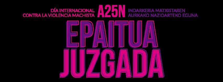JUZGADA:Imagen campaña contra la violencia de género diseñada en el Ciclo Formativo Grado Superior Usandizaga Diseño