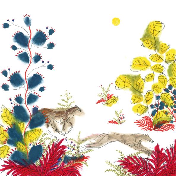 Sandra Garayoa ilustradora Adios Febrero
