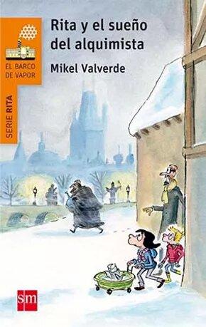 Mikel Vaverde ilustración Rita y el Sueño del Alquimista portada definitiva