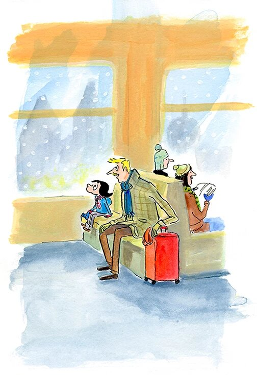 Mikel Vaverde ilustración Rita y el Sueño del Alquimista