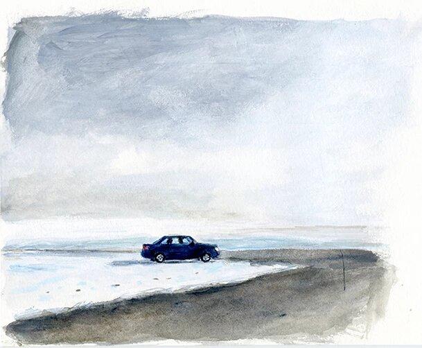 Mikel Vaverde ilustraciónPaisaje
