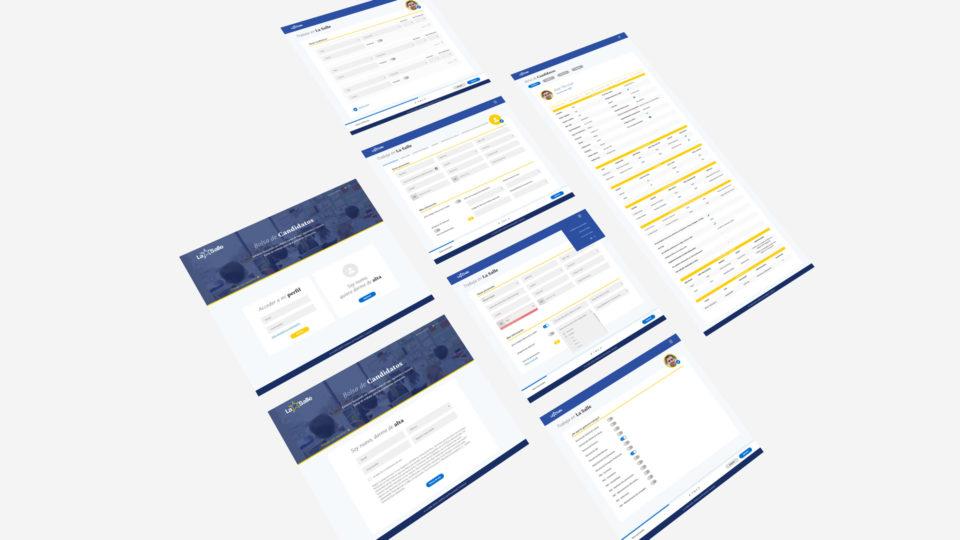 blau diseño web: diseño web lasalle