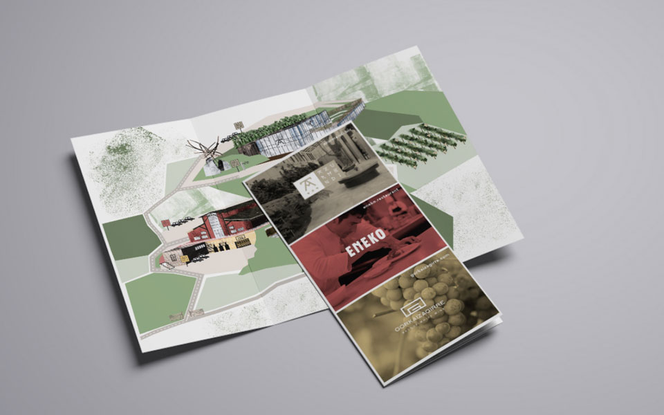 Entrevista Crisiscreativa: diseño brochure Eneko Bilbao