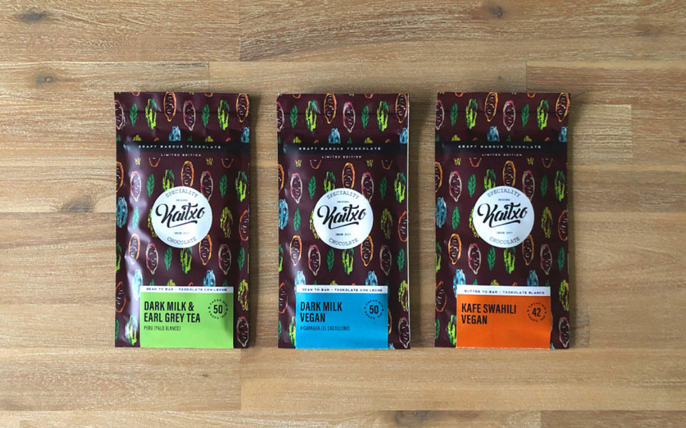 Crisis Creativa: diseño packgaging chocolate Kaitxo
