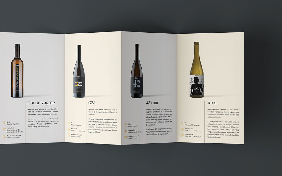 Entrevista Crisiscreativa: diseño brochure Gorka Izagirre