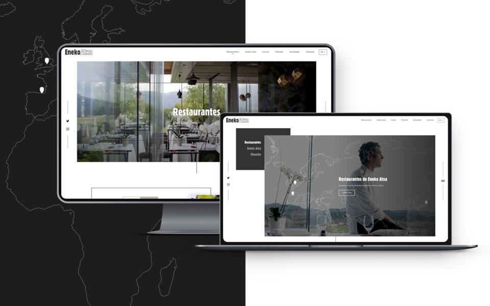 Crisiscreativa: diseño web Eneko Bilbao