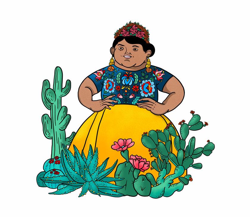 Janire Orduna, ilustradora: ilustracion Oaxaca