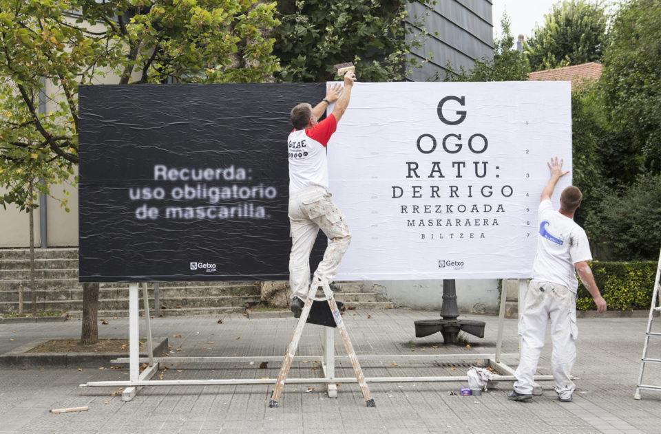 Freskue: uso de mascarilla Getxo